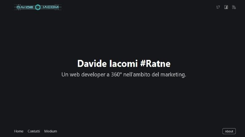 Davide iacomi consulente web marketing a Roma