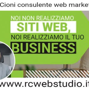 Rodolfo Cioni ed RCWeb Studio: Consulente web marketing a Pisa